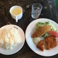 チキン南蛮と白身のフライのセット