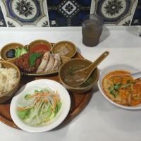 シンガポールチキンライス+ミニラクサヌードル