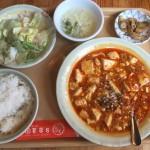 麻婆豆腐セット 麻婆豆腐・ライス・スープ・ザーサイ