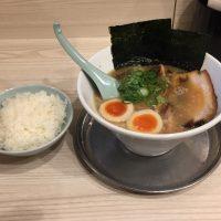 豚骨スペシャルラーメン +サービスライス
