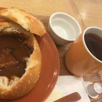 神田シチューセット+ホットコーヒー