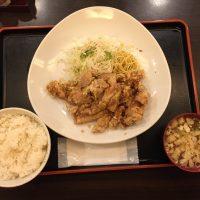 油淋鶏定食 油淋鶏・ご飯・味噌汁